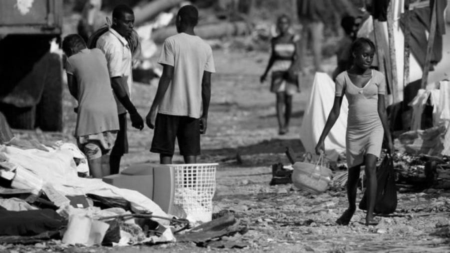 Haiti pobreza la-tinta