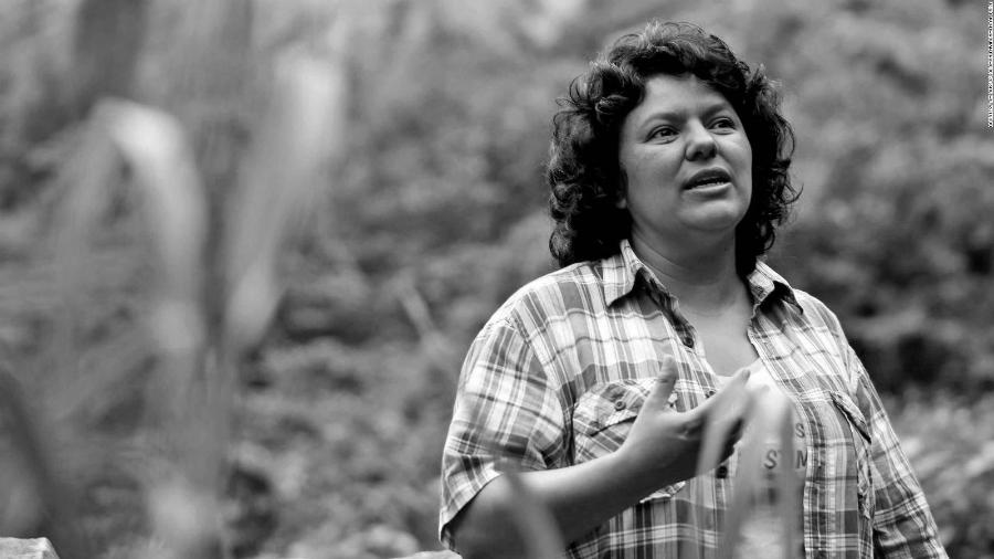 Honduras Berta Caceres la-tinta