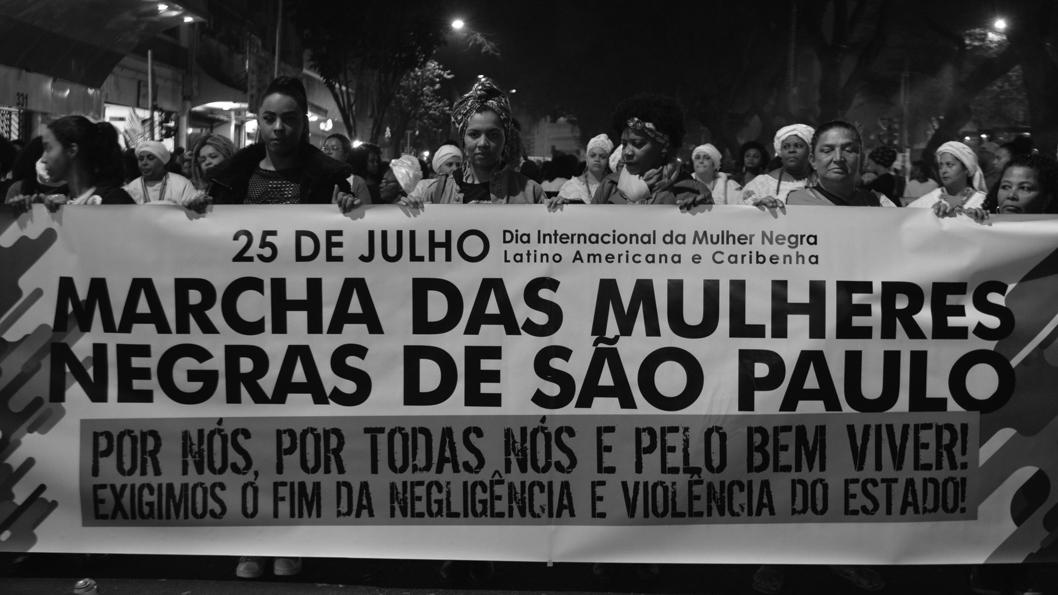 Resultado de imagen para marcha de mujeres negras brasil