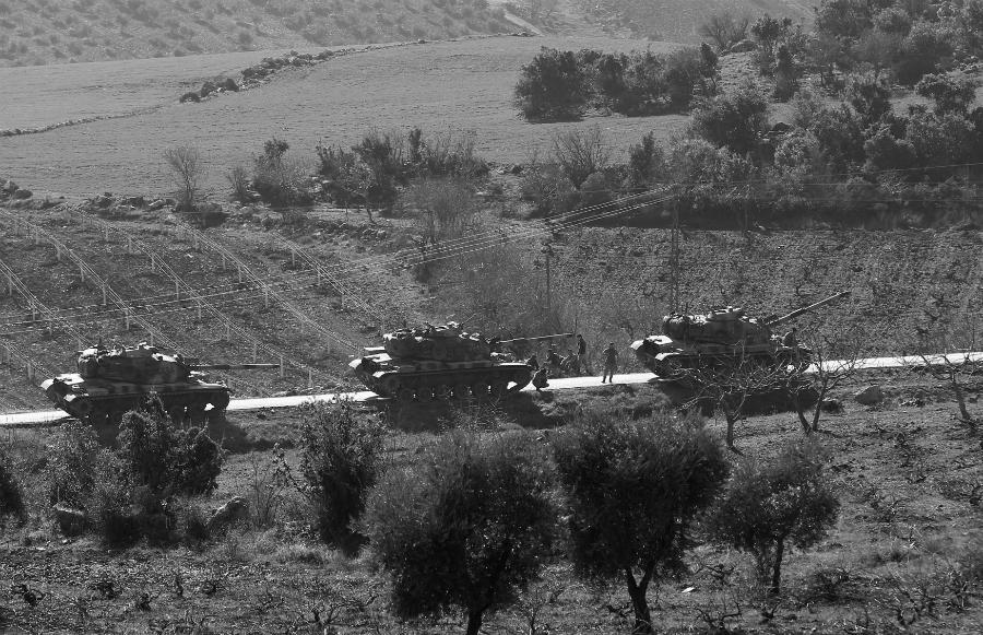 Norte de Siria tropas turcas la-tinta
