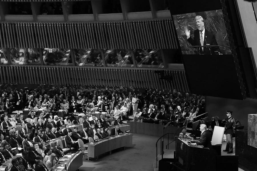 ONU Trump discurso Asamblea General la-tinta