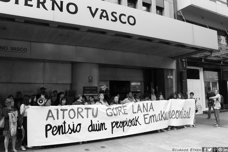 Pais Vasco movimiento feminista la-tinta