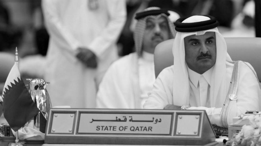 Qatar emir Thani la-tinta