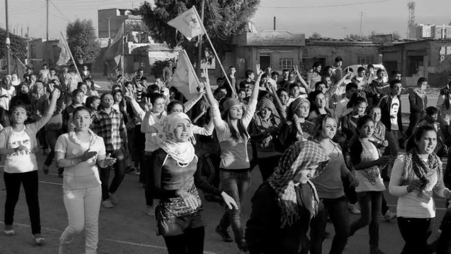 Rojava mujeres y revolucion la-tinta