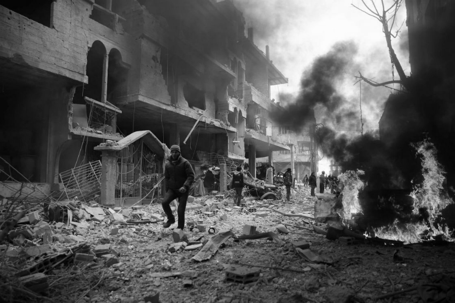 Siria Idlib la-tinta