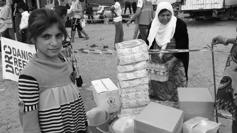 Siria ONG ayuda la-tinta