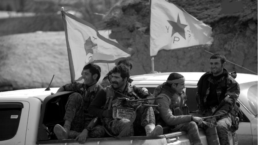 Siria YPG Kurdistan la-tinta