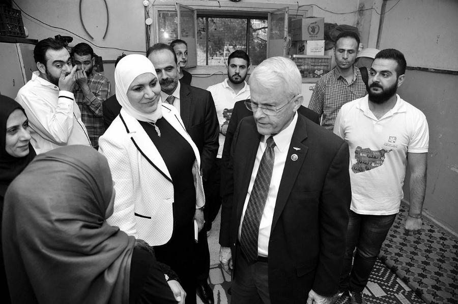 Siria senador Black la-tinta