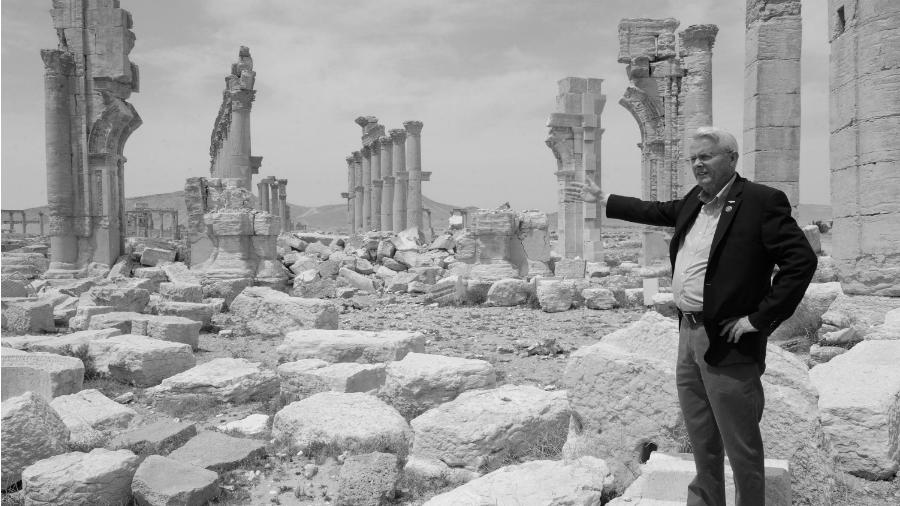 Siria senador estadounidense Black la-tinta