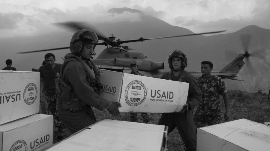 USAID ayuda humanitaria la-tinta