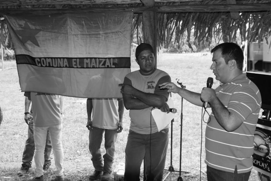 Venezuela Comuna El Maizal la-tinta