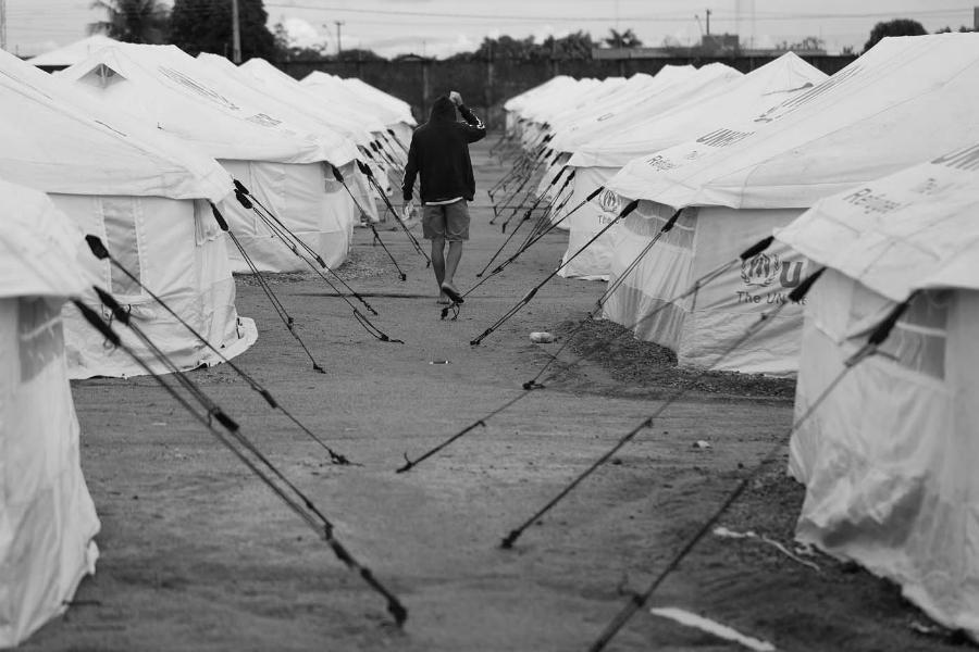 Venezuela campo refugiados la-tinta