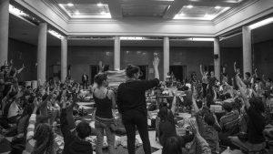UNC: levantan la toma del Pabellón Argentina tras compromiso de autoridades