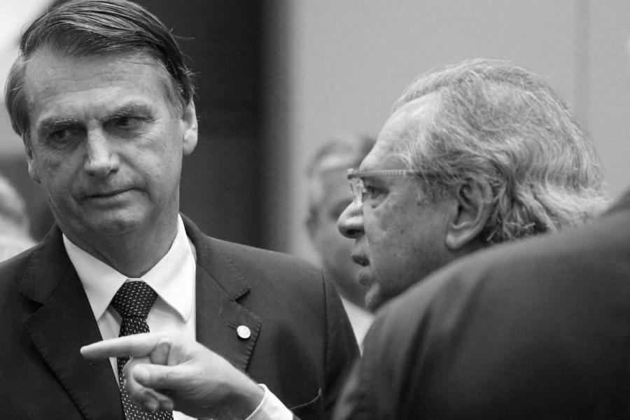Brasil Bolsonaro Guedes la-tinta