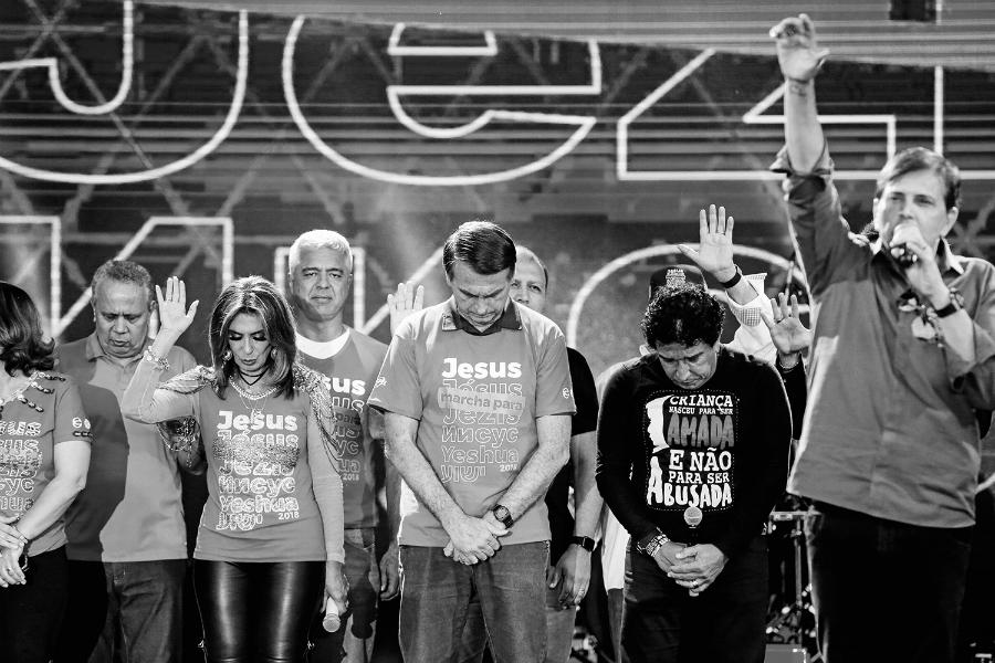 Brasil Bolsonaro evangelistas pentecostales la-tinta
