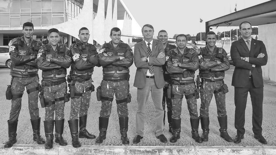 Brasil Bolsonaro fuerzas de seguridad la-tinta