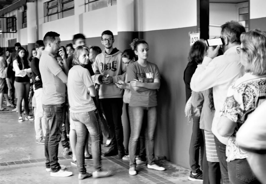 Brasil comicios Foz centro electoral la-tinta