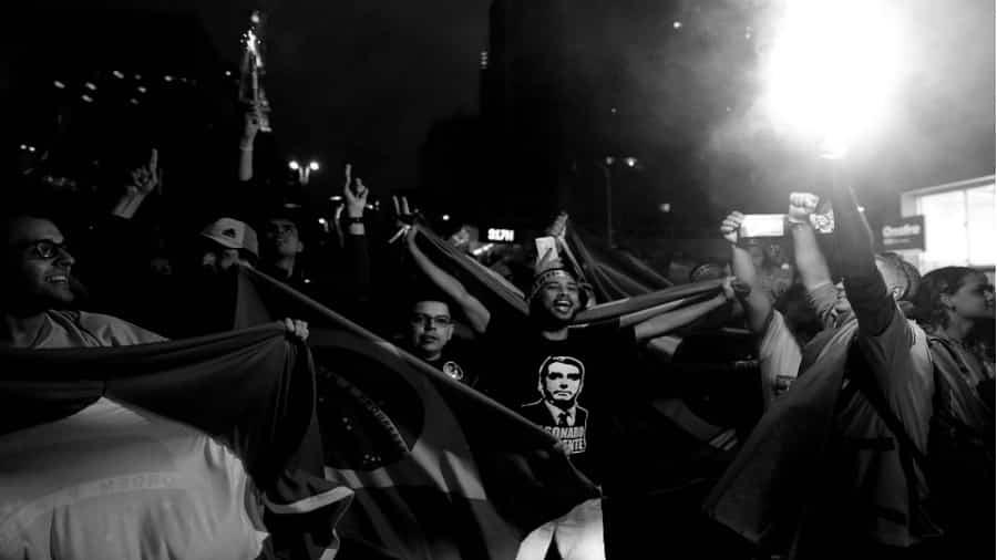 Brasil festejos de seguidores de Bolsonaro la-tinta