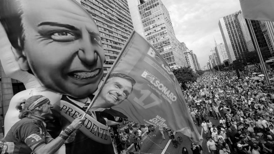Brasil marcha por Bolsonaro la-tinta