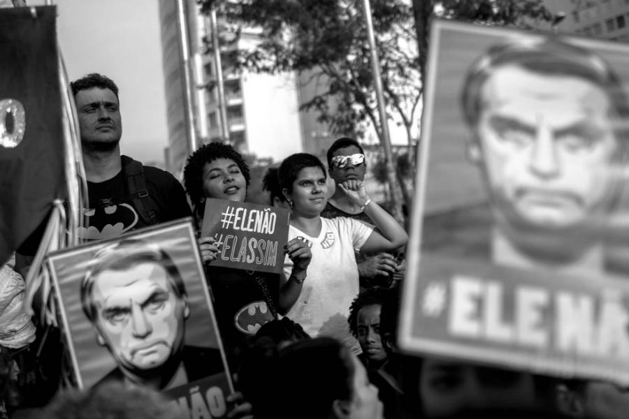 Brasil movilizacion contra Jair Bolsonaro la-tinta
