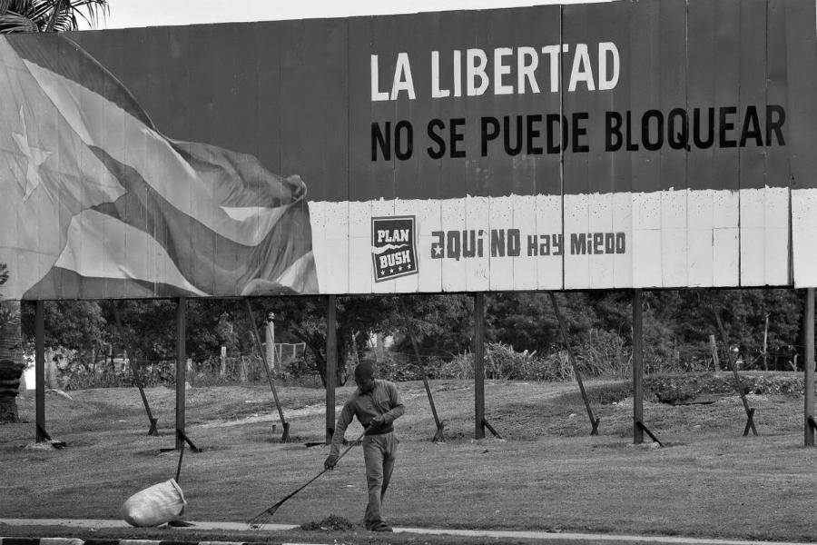 Cuba bloqueo de EEUU la-tinta