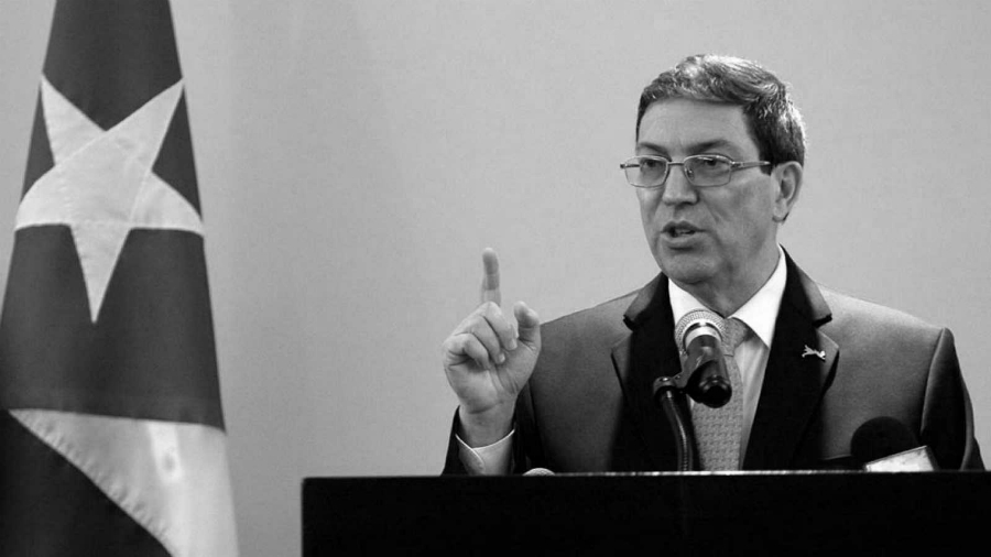 Cuba canciller Bruno Rodriguez la-tinta