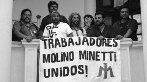 Molinos Minetti: paro por tiempo indeterminado