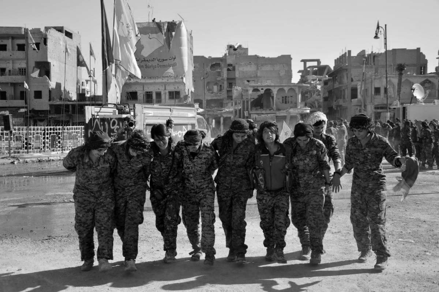 Siria Raqqa liberacion mujeres la-tinta