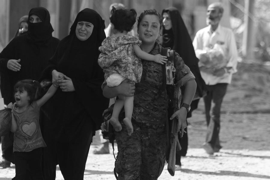 Siria liberacion de Manbij la-tinta