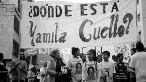 Yamila Cuello, presente