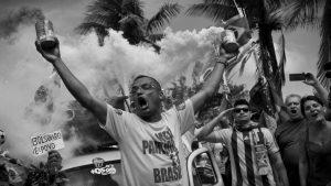 El verde, el amarillo y el horror flamean en Brasil