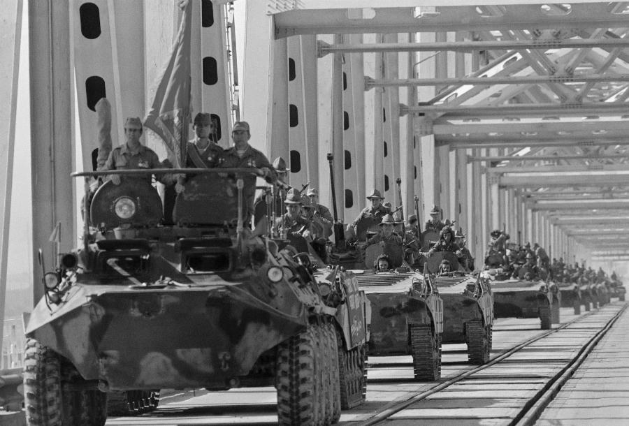 Afganistan ejercito sovietico la-tinta