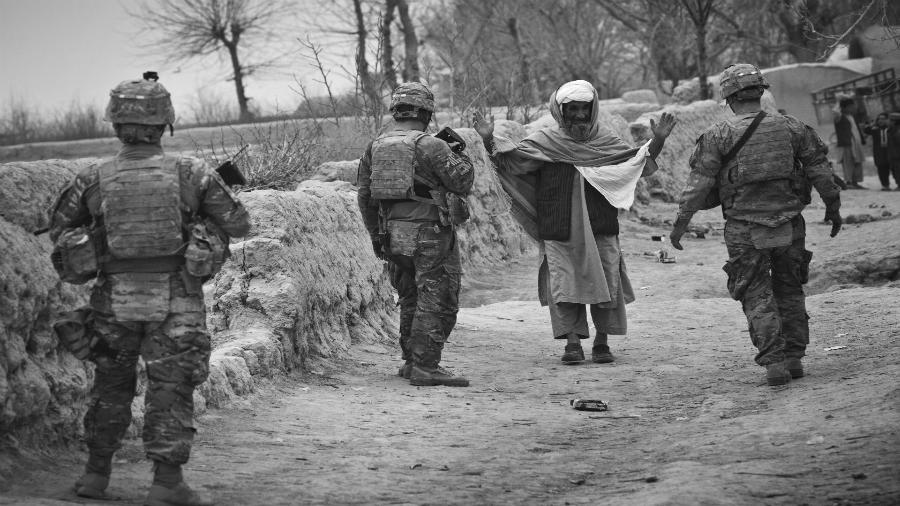 Afganistan soldados estadounidenses la-tinta