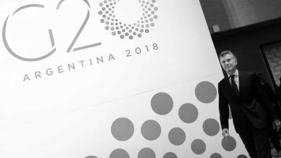 Argentina G20 Macri la-tinta