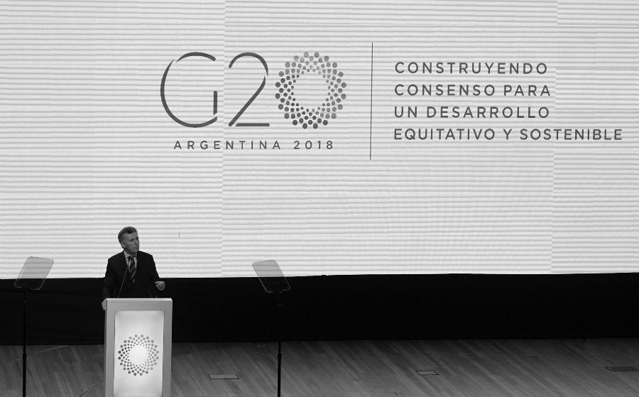 Argentina Macri G20 la-tinta