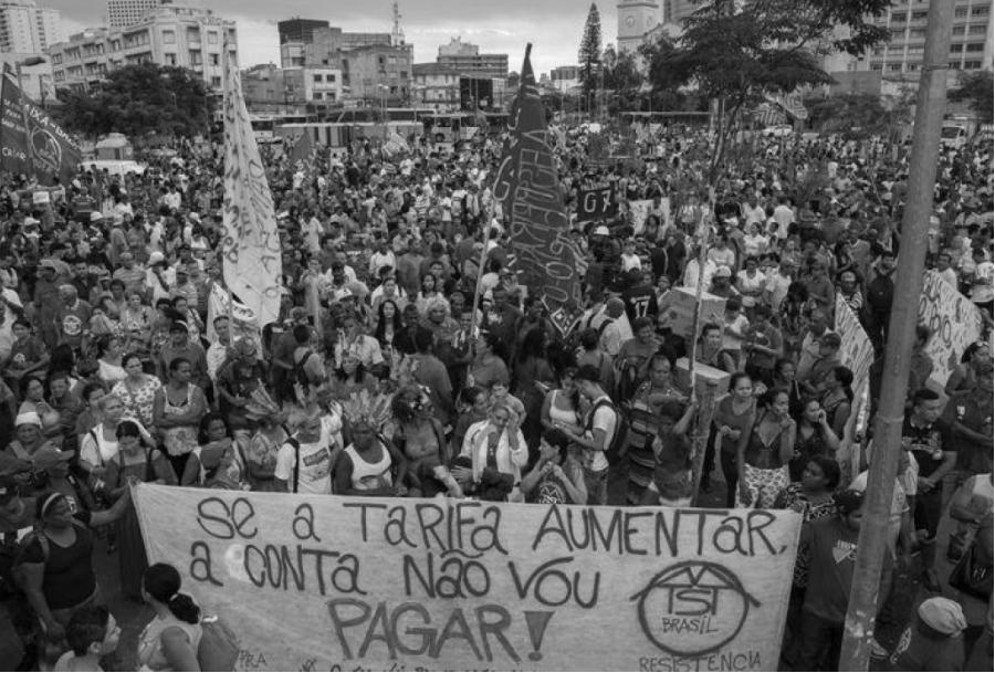 Brasil Movimiento Sin Techo movilizacion la-tinta