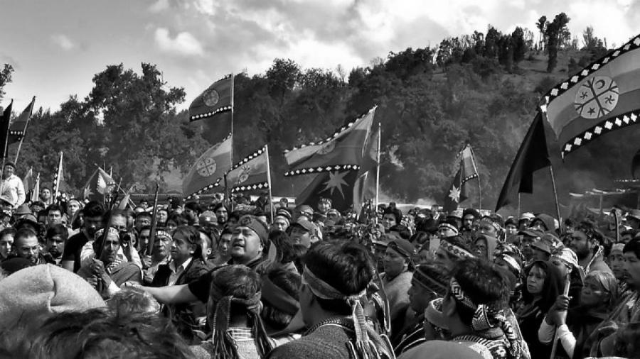 Chile Camilo Catrillanca funeral la-tinta