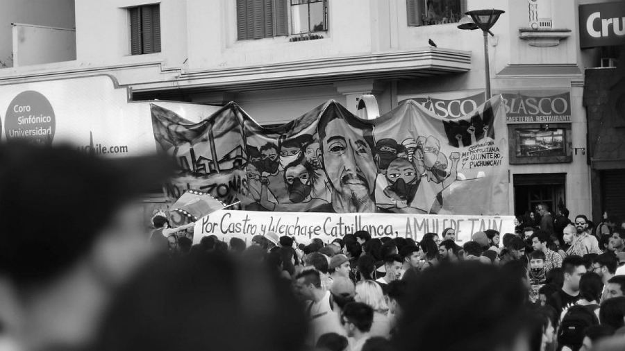 Chile Camilo Catrillanca manifestacion la-tinta