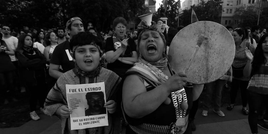 Chile mapuches catrillanca movilizacion la-tinta