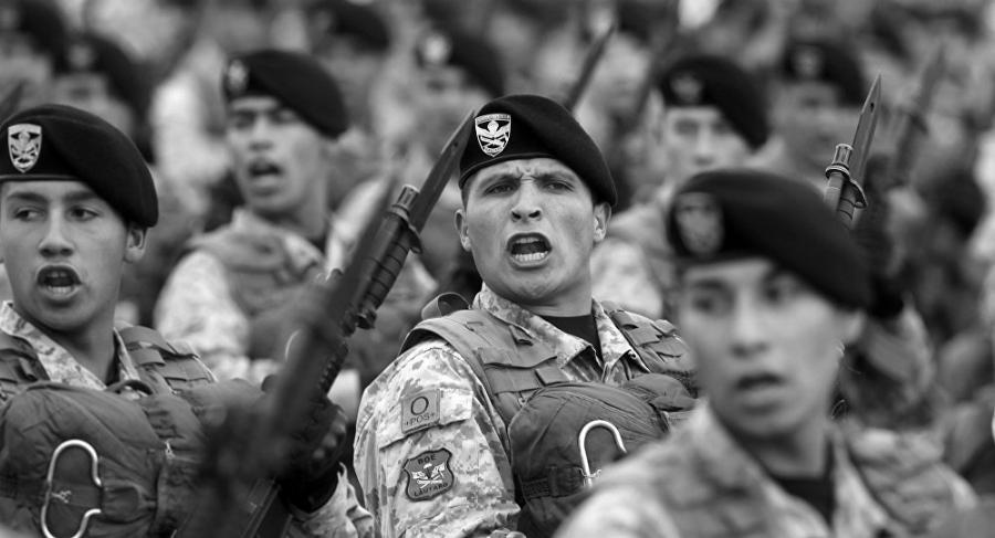 Chile soldados del ejercito la-tinta