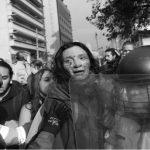 Reprimen marcha de estudiantes en Colombia