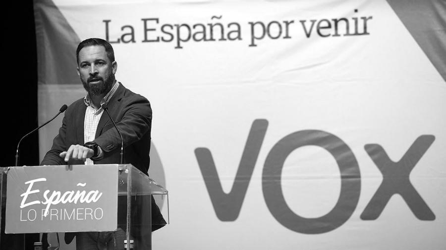 España santiago abascal Vox la-tinta