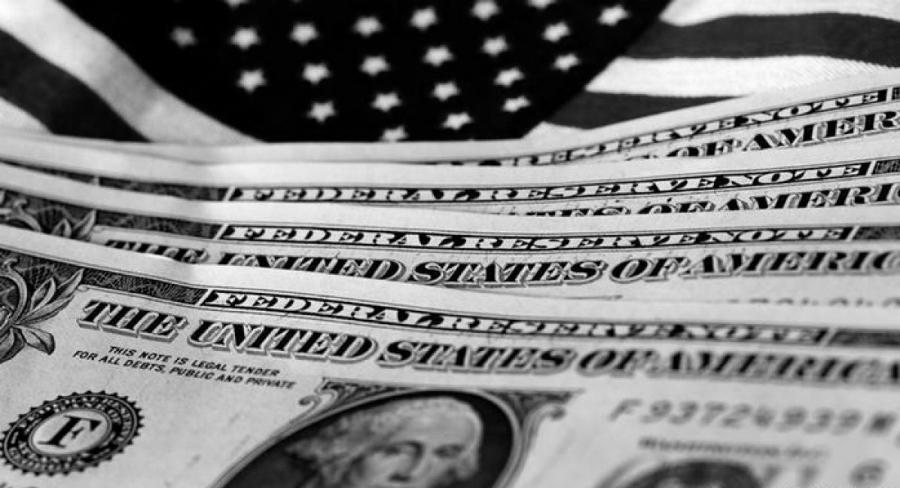 Estados Unidos dolares bandera la-tinta