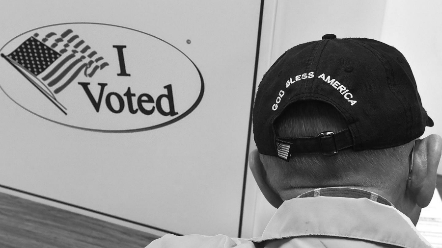 Estados Unidos elecciones votantes la-tinta