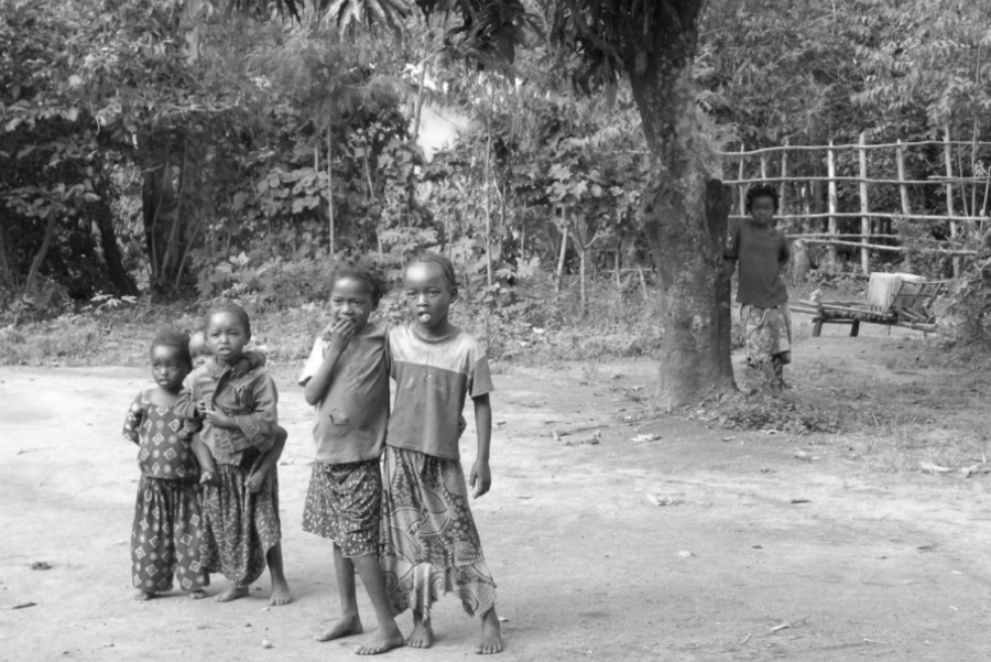 Etiopia Africa niños la-tinta