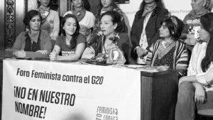 ¿Por qué lxs feministas se organizan contra la Cumbre del G20?