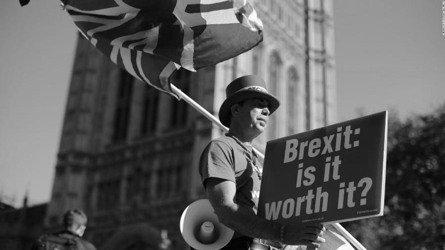 Gran Bretaña manifestacion Brexit la-tinta
