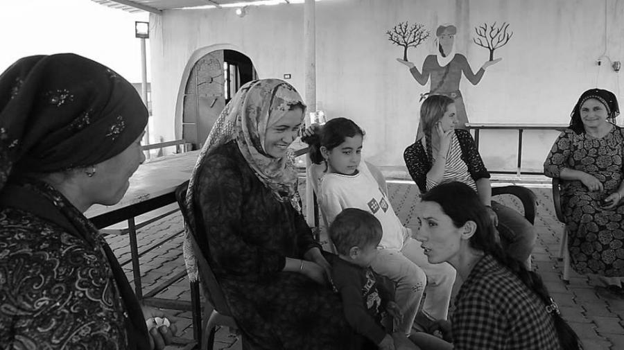 Rojava Jinwar mujeres y niños la-tinta