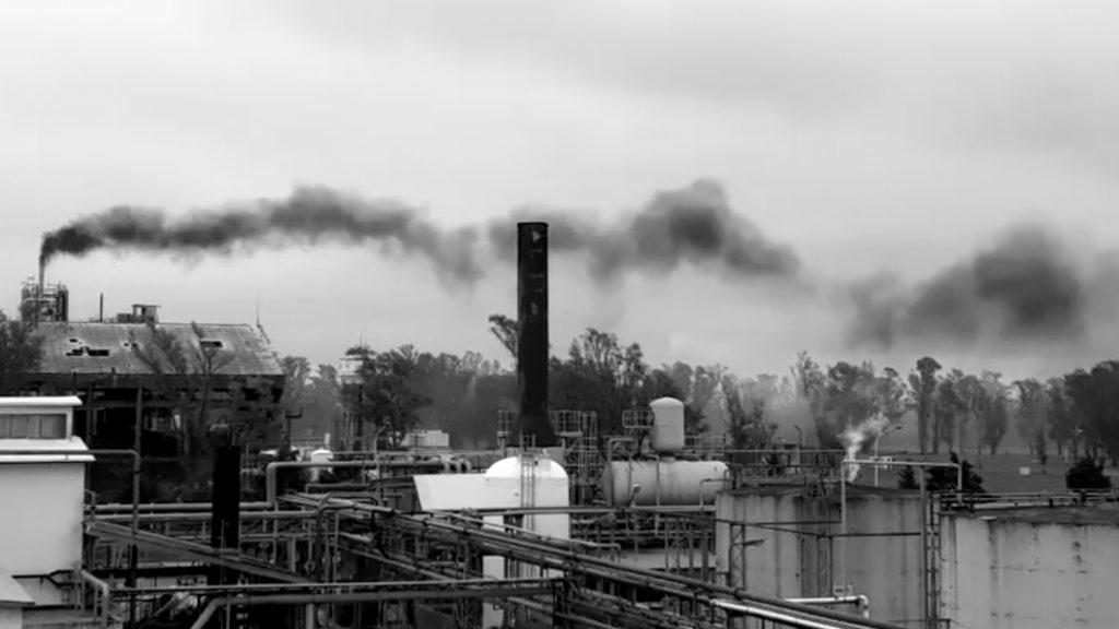 escape gas contaminacion rio tercero