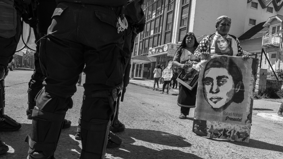 rafael nahuel marcha aniversario represion